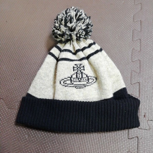Vivienne Westwood(ヴィヴィアンウエストウッド)の値下げヴィヴィアンニット帽Vivienne Westwood  レディースの帽子(ニット帽/ビーニー)の商品写真
