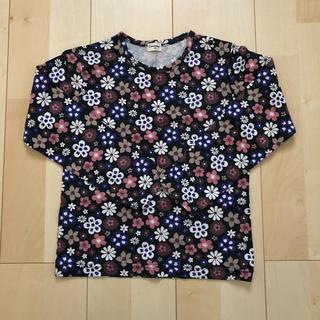 コンビミニ(Combi mini)の☆Combi mini 花柄長袖Tシャツ 美品 120cm☆☆(Tシャツ/カットソー)