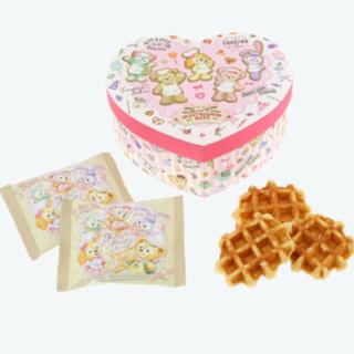 ダッフィー(ダッフィー)のハートウォーミングデイズ ワッフル 布貼箱 ダッフィー (菓子/デザート)