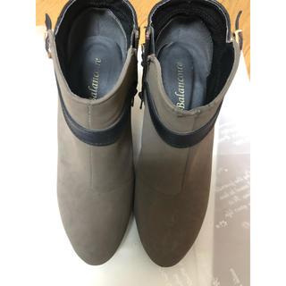ブランコ(Blanco)のbalancoire ブランコアール ショートブーツ L  24.5(ブーツ)