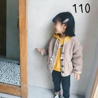 【新品】(110)ボアブルゾン♡(ジャケット/上着)