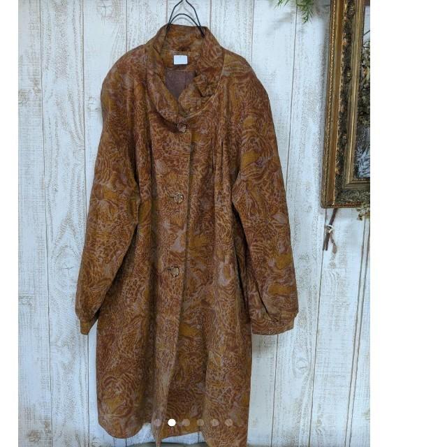 Santa Monica(サンタモニカ)のused古着アンティークロングコート レディースのジャケット/アウター(ロングコート)の商品写真