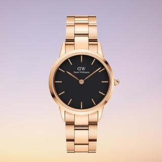 Daniel Wellington - 安心保証付!新作【28㎜】ダニエル ウェリントン腕時計 Iconic Link