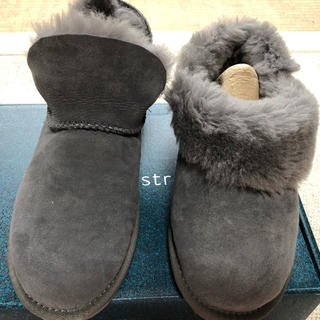 エミュー(EMU)の新品未使用エミューEMUムートンブーツ23グレー アグーUGG(ブーツ)