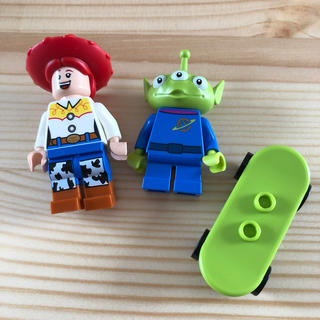 Lego - レゴ ミニフィグ  ジェシー、リトルグリーンメン