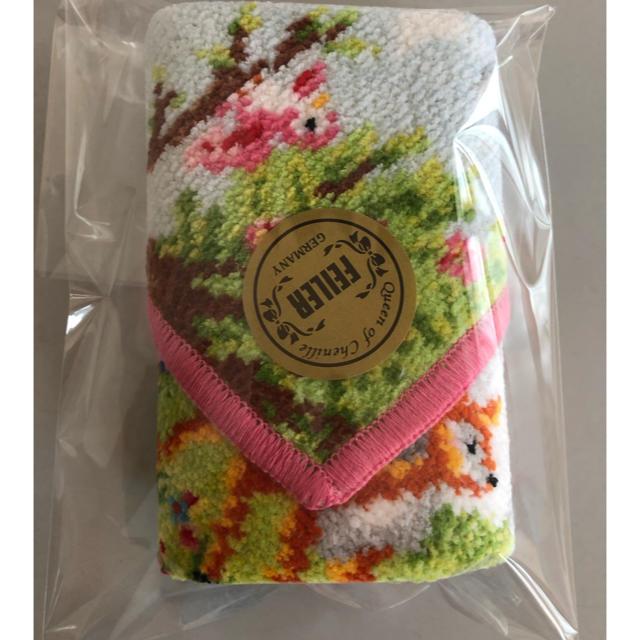 FEILER(フェイラー)のフェイラーハンカチANA チェスティコラボ  ハンカチ  バンビのみ レディースのファッション小物(ハンカチ)の商品写真