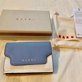 Marni - 週末値下げ【未使用】MARNI 三つ折り 財布