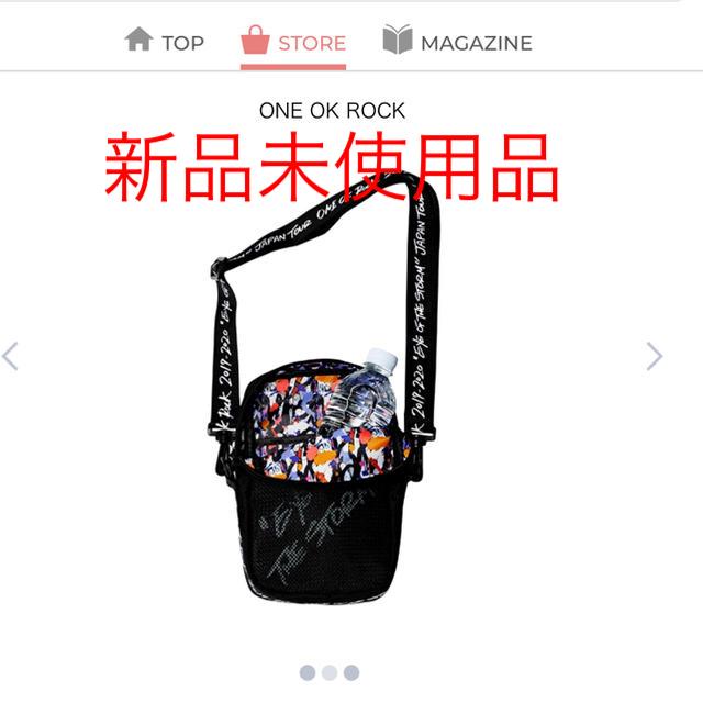 ONE OK ROCK(ワンオクロック)のワンオクロック one ok rock ショルダーバッグ 2019.2020 エンタメ/ホビーのタレントグッズ(ミュージシャン)の商品写真