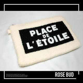 ROSE BUD - ROSE BUD ふわもこ クラッチバック Bag♡ビームス SHIPS ザラ