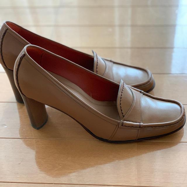 Cole Haan(コールハーン)のCOLE HAAN 茶色のパンプス レディースの靴/シューズ(ハイヒール/パンプス)の商品写真