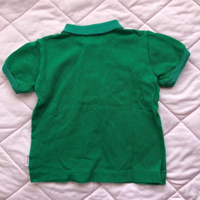 mikihouse(ミキハウス)のミキハウス ポロシャツ キッズ/ベビー/マタニティのベビー服(~85cm)(シャツ/カットソー)の商品写真