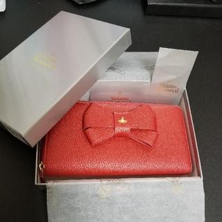 Vivienne Westwood - ヴィヴィアン 財布 リボン 赤