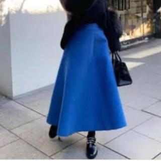 ZARA - バースデーバッシュ  ロイヤルブルー ボンディング スカート