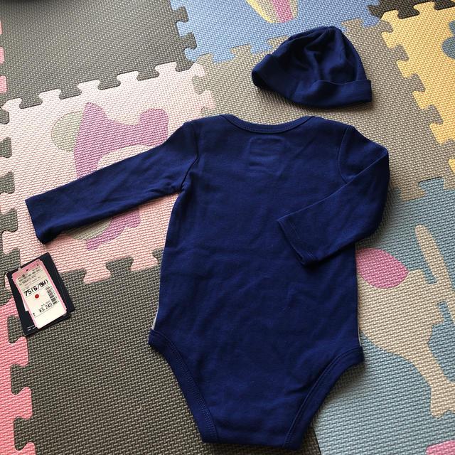NIKE(ナイキ)のナイキ ロンパース&キャップ キッズ/ベビー/マタニティのベビー服(~85cm)(ロンパース)の商品写真