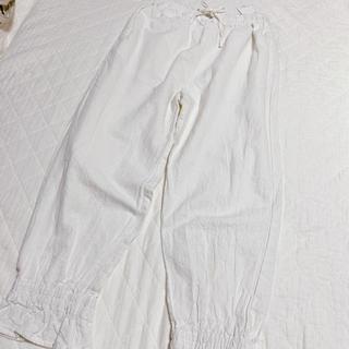 SM2 - サマンサモスモス 裾絞りパンツ オフ