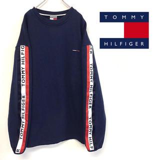 TOMMY HILFIGER - 美品 90's US製 TOMMY HILFIGER スウェット トミージーンズ
