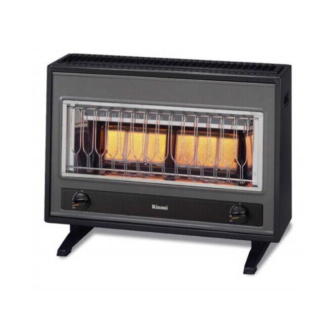 Rinnai(リンナイ)の リンナイガスストーブ(都市ガス12.13A) スマホ/家電/カメラの冷暖房/空調(ストーブ)の商品写真