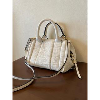 TOMORROWLAND - ショルダーバッグ ハンドバッグ 小さいバッグ 白 ホワイト