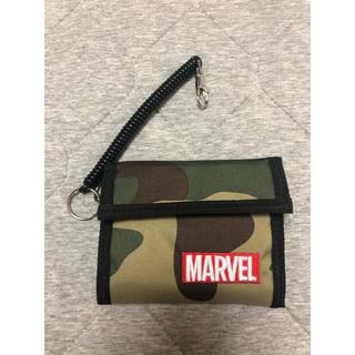 MARVEL - 新品 しまむら CORDURA MARVEL 迷彩柄 マジックテープ 財布
