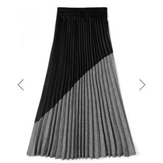 GRL - GRL バイカラーデザインプリーツスカート