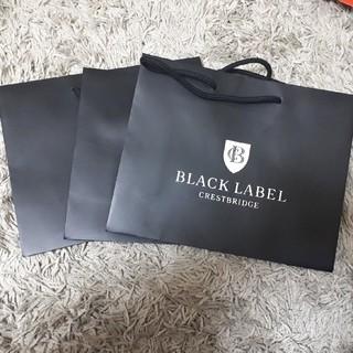 ブラックレーベルクレストブリッジ(BLACK LABEL CRESTBRIDGE)のブラックレーベルクレストブリッジ ショッパー(ショップ袋)