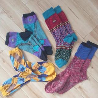 ヴィヴィアンウエストウッド(Vivienne Westwood)のVivienne Westwood 靴下 4点セット ソックス(ソックス)