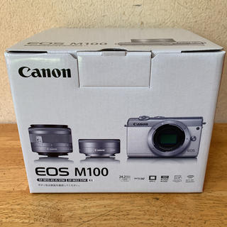 Canon - Canon EOS M100 ダブルレンズキット【新品未使用品】