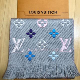 LOUIS VUITTON - 新品未使用 ルイヴィトン レインボーグレー 限定カラー マフラー