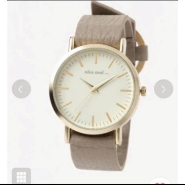 niko and...(ニコアンド)のレザーリングベルトウォッチ ニコアンド   レディースのファッション小物(腕時計)の商品写真