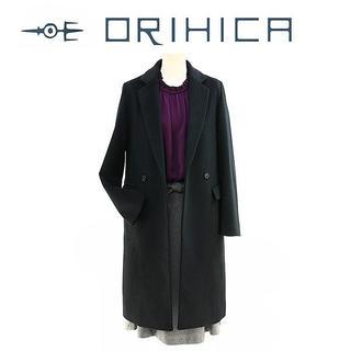 オリヒカ(ORIHICA)の-S-新品 ORIHICA RHYME チェスターコート718800ネイビー(ロングコート)