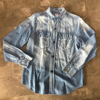 DENIM DUNGAREE - denim dungareeシャツ