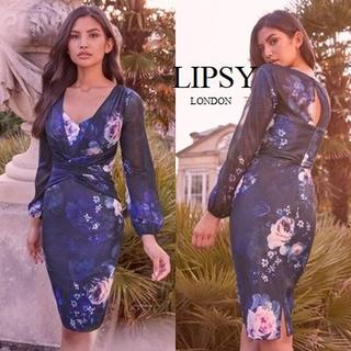 リプシー(Lipsy)のLipsy ソフトストラクチャー ボディコンドレス(ミディアムドレス)