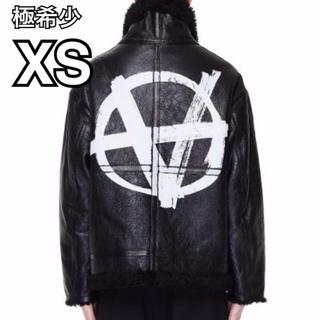 Balenciaga - XS VETEMENTS Anarchy Print Leather アナーキー