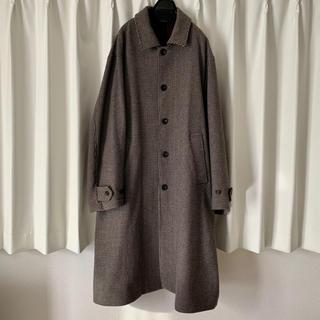 COMOLI - stein OVERSLEEVE INVESGATED COAT  コート
