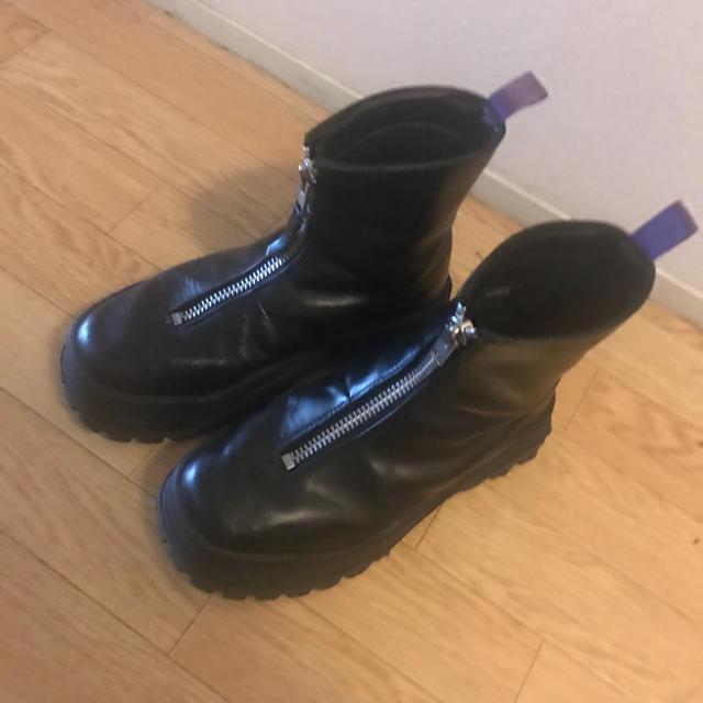eytys raven センタージップブーツ メンズの靴/シューズ(ブーツ)の商品写真