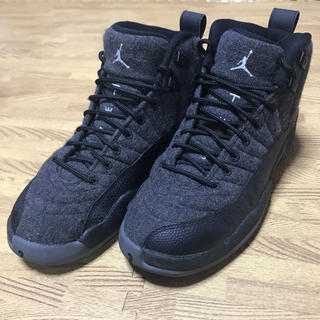 NIKE - NIKE air jordan12  retro wool