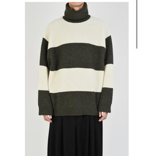 LAD MUSICIAN - TURTLE NECK BIG PULLOVER 新品