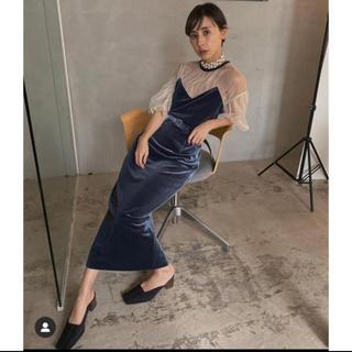 Ameri VINTAGE - ameri vintage チュールタイトドレス