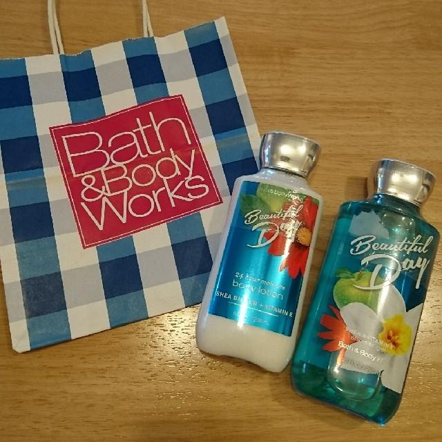Bath & Body Works(バスアンドボディーワークス)の新品★Bath&Body Works☆ボディローション&シャワージェル♪② コスメ/美容のボディケア(ボディローション/ミルク)の商品写真
