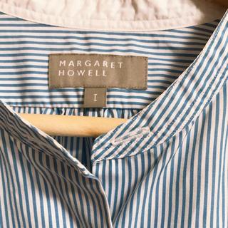 マーガレットハウエル(MARGARET HOWELL)のマーガレットハウエル ストライプシャツ(シャツ/ブラウス(長袖/七分))