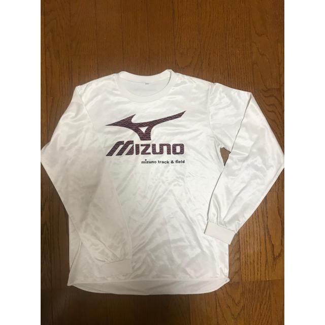 MIZUNO(ミズノ)のMIZUNO ミズノ 陸上 ロングTシャツ S レディースのトップス(Tシャツ(長袖/七分))の商品写真