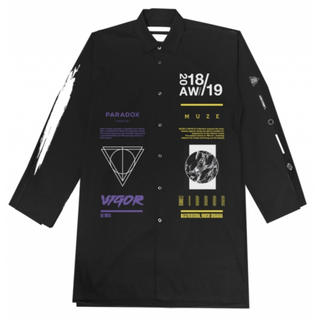 Supreme - MUZE×PARADOX シャツ big shirt