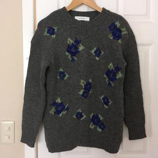 LE CIEL BLEU - ルシェルブルー 花柄 セーター  ニット