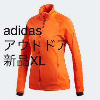 アディダス(adidas)の【新品】OTサイズ アディダス adidas アウトドア フリースジャケット(登山用品)