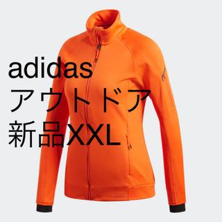 アディダス(adidas)の【新品】XOTサイズ アディダス adidas アウトドア フリースジャケット(登山用品)
