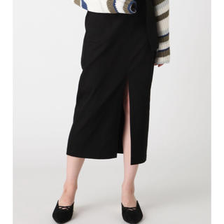 MURUA - MURUA ベルテッドペンシルスカート ブラック サイズ1