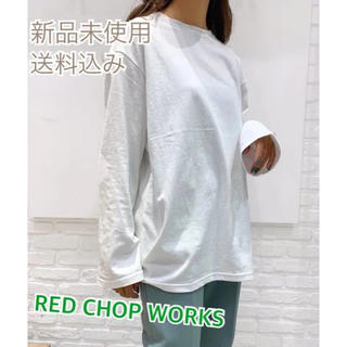 RED CHOP WORKS キャナルジーン ビッグロングTシャツ
