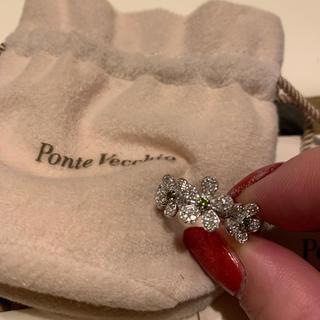 ポンテヴェキオ(PonteVecchio)の訳あり!ポンテヴェキオダイヤモンドフラワーリング カルティエ ヴァンクリーフ(リング(指輪))