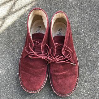 マーガレットハウエル(MARGARET HOWELL)のマーガレットハウエル チャッカブーツ(ローファー/革靴)