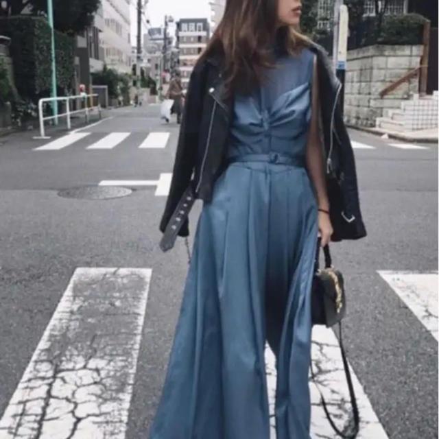 Ameri VINTAGE(アメリヴィンテージ)のLADY BUSTIER ROMPERS DRESS アメリヴィンテージ レディースのパンツ(オールインワン)の商品写真